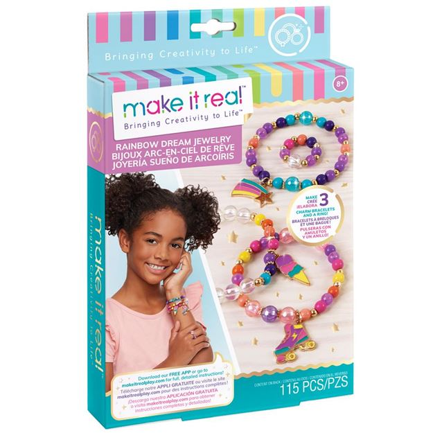 Picture of Make It Real - Rainbow Dreams Charm Bracelets