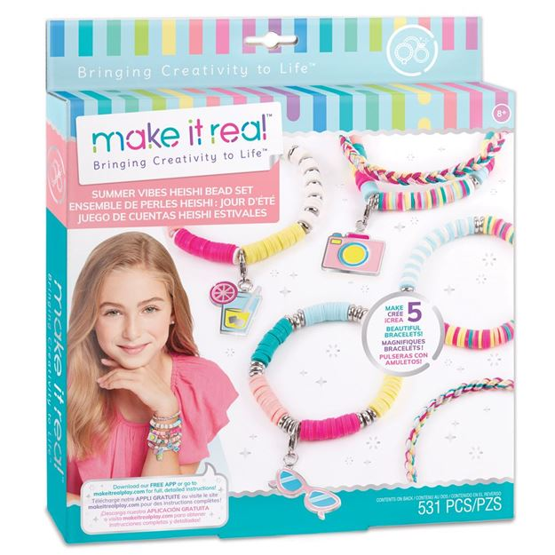 Picture of Make it Real - Summer Vibes Heishi Bead Sets