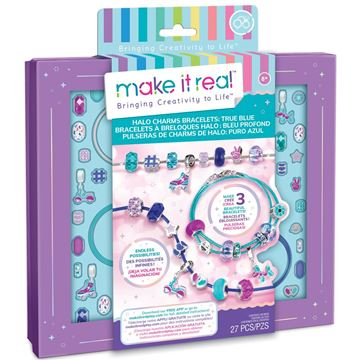 Picture of Make it Real - True Blue Halo Charm Bracelets