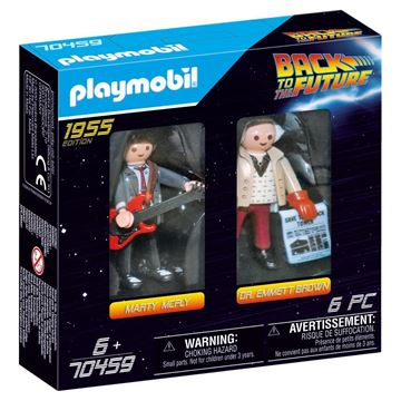 Picture of Playmobil - Back to the Future - Marty McFly & Dr Emmet Brown
