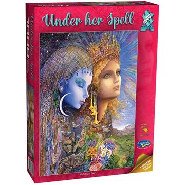 Picture of Holdson Puzzle - Under Her Spell, 1000pc (Night and Day)