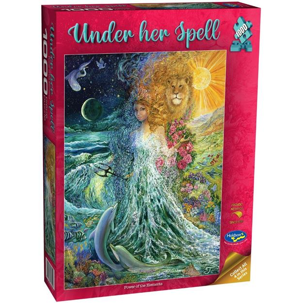 Picture of Holdson Puzzle - Under Her Spell, 1000pc (Power of the Elements)