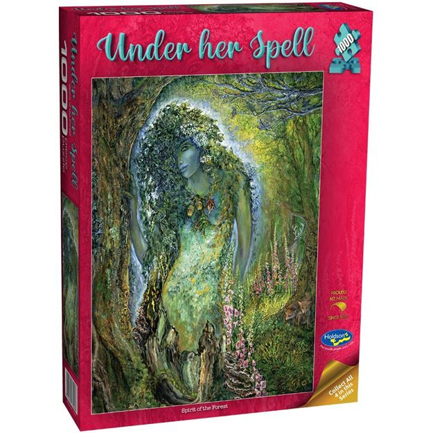 Picture of Holdson Puzzle - Under Her Spell, 1000pc (Spirit of the Forest)