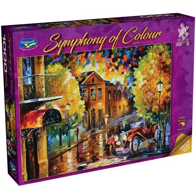 Picture of Holdson Puzzle - Symphony of Colour, 1000pc (Jaguar)