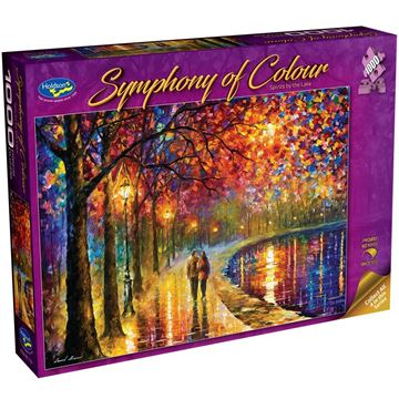 Picture of Holdson Puzzle - Symphony of Colour, 1000pc (Spirits by the Lake)
