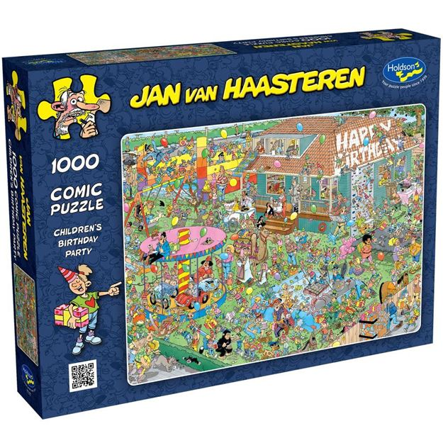Picture of Holdson Puzzle - Jan Van Haasteren, 1000pc (Children's Birthday Party)