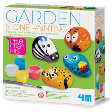 Picture of 4M Craft - Garden Stone Painting
