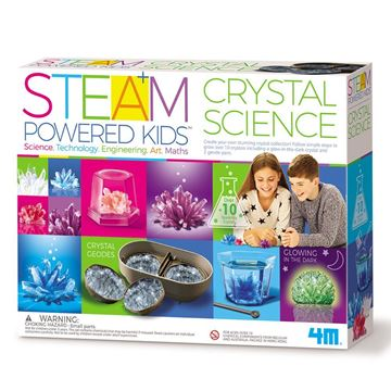 Picture of 4M STEAM Powered Crystal Science