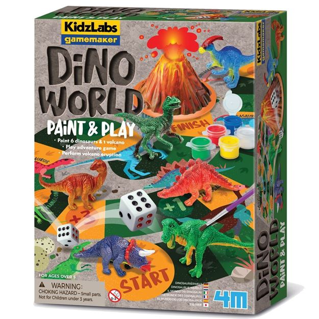 Picture of 4M Science - KidzLabs Games Dino World