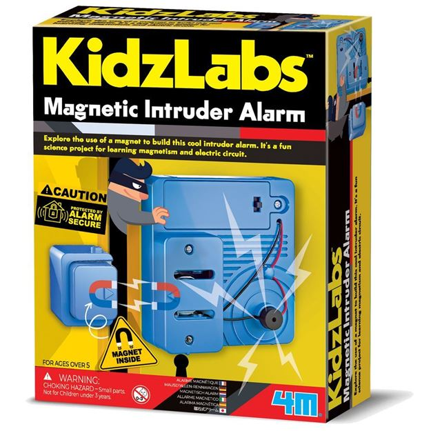 Picture of 4M Science - KidzLabs Magnetic Intruder Alarm
