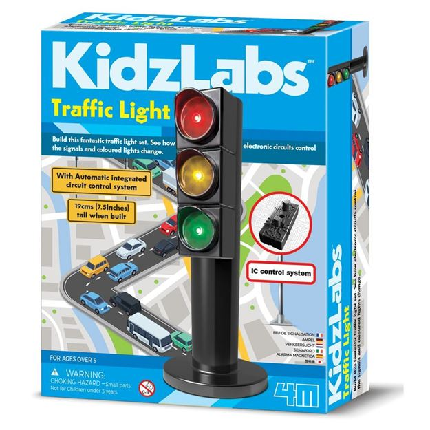 Picture of 4M Science - KidzLabs Traffic Light