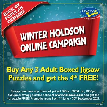 Picture of BUY ANY 3x 500pc/ 500XL/ 1000pc/ 1500pc PUZZLES & GET THE 4th FREE
