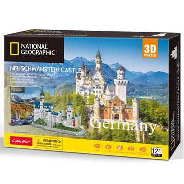 Picture of 3D Puzzle - Germany - Neuschwanstein Castle