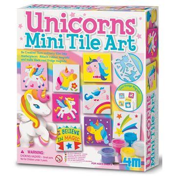 Picture of 4M Craft - Unicorn Magnetic Mini Tile Art