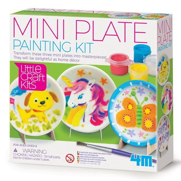 Picture of 4M Craft - Mini Plate Painting Kit