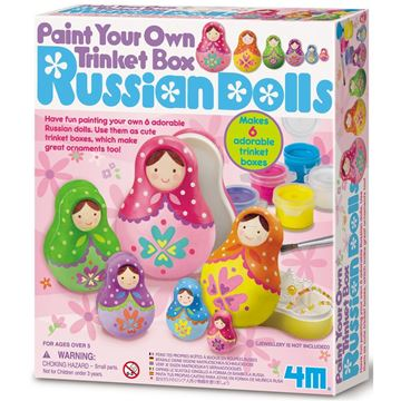 Picture of 4M Craft - Russian Dolls Trinket Box