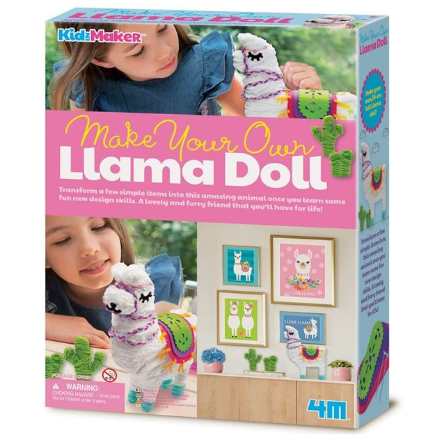 Picture of 4M Craft - Make Your Own Llama Doll