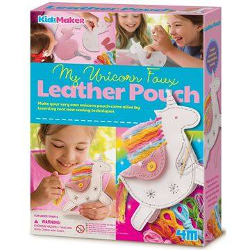 Picture of 4M Craft - My Unicorn Faux Leather Pouch