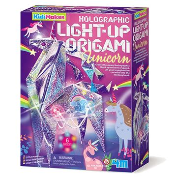 Picture of 4M Craft - Light Up Origami Unicorn
