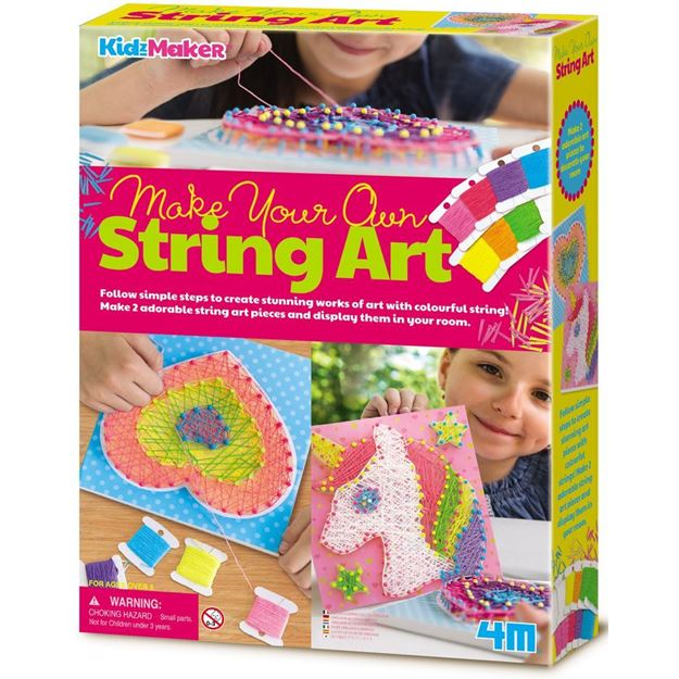 Picture of 4M Craft - Make Your Own String Art