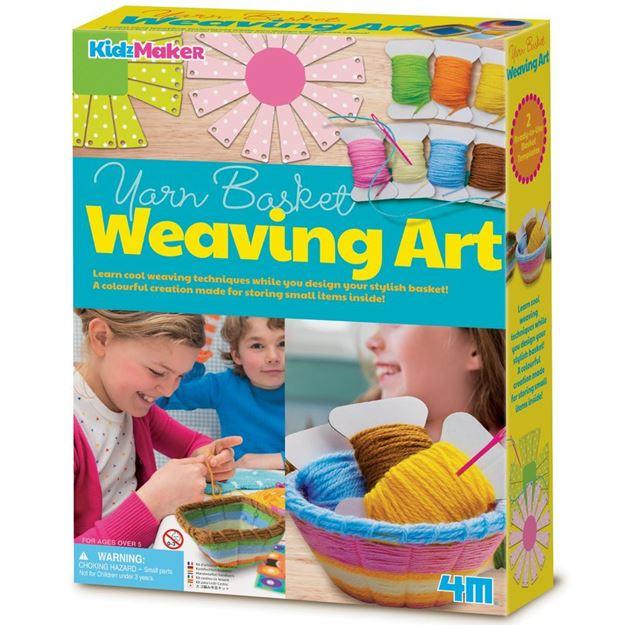 Picture of 4M Craft - Yarn Basket Weaving Art