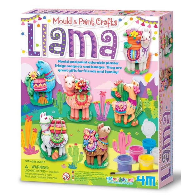 Picture of 4M Craft - Mould & Paint Llama