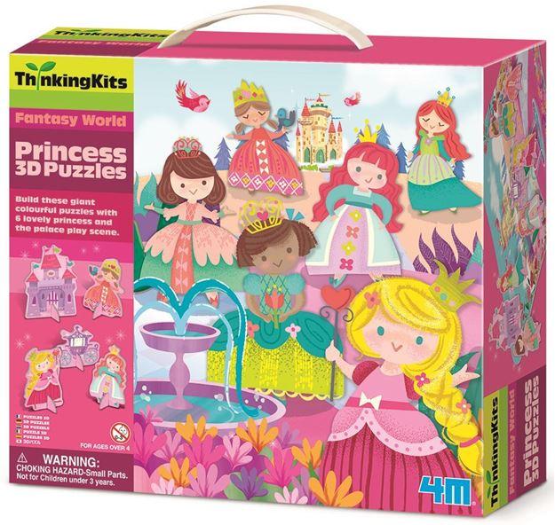 Picture of 4M Craft - Princess 3D Puzzle