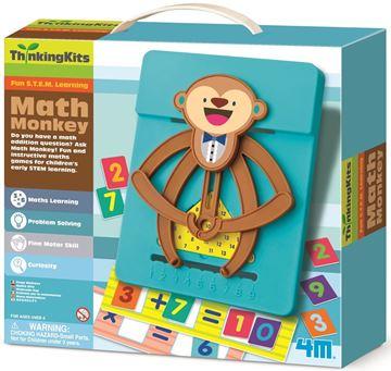 Picture of 4M Craft - Math Monkey