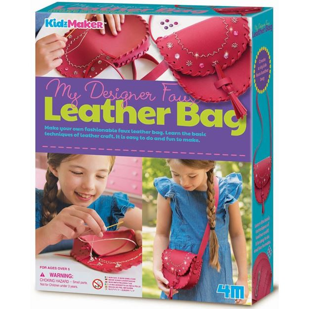 Picture of 4M Craft - My Designer Faux Leather Bag