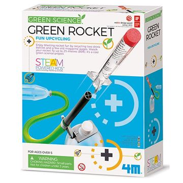 Picture of 4M Science - Green Rocket