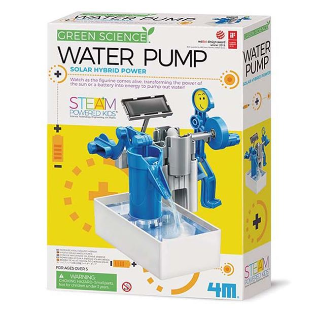 Picture of 4M Science - Water Pump Solar Hybrid Power