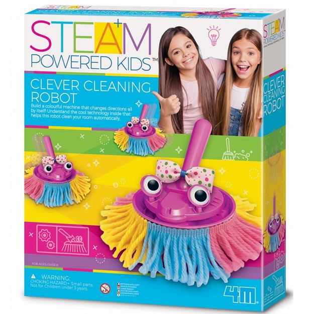 Picture of 4M STEAM Powered Kids - Clever Cleaning Robot