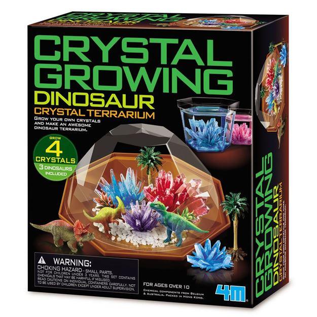 Picture of 4M Science - Crystal Growing Dinosaur Terrarium