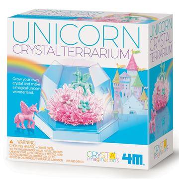 Picture of 4M Science - Crystal Terrarium Unicorn