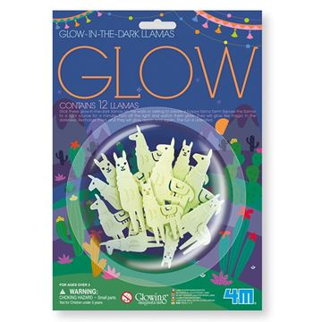 Picture of 4M Science - Glow 12 Llama's Pack