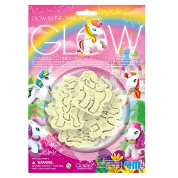 Picture of 4M Science - Glow 12 Unicorns Pack