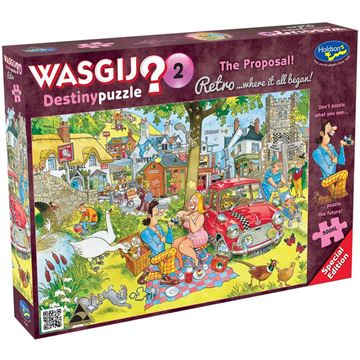 Picture of Holdson Puzzle - Wasgij Retro Destiny 2, 500XL pc (The Proposal)
