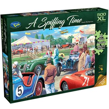Picture of Holdson Puzzle - A Spiffing Time, 500XL pc (Classic Racing Cars)