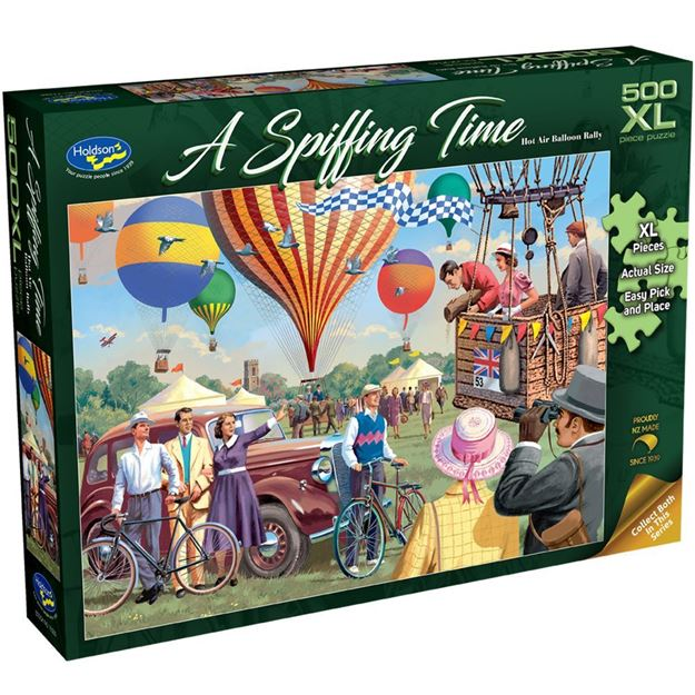 Picture of Holdson Puzzle - A Spiffing Time, 500XL pc (Hot Air Balloon Rally)