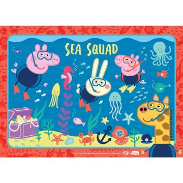 Picture of Holdson Puzzle - Set of Four Peppa Pig S2, 35pc Frame Tray Series