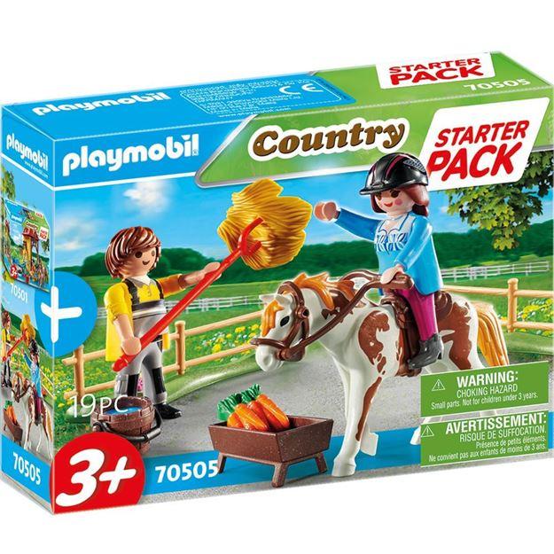 Picture of Playmobil - Small Horseback Riding Starter Set