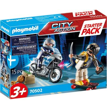 Picture of Playmobil - Small Police Chase Starter Set