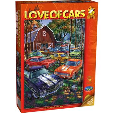 Picture of Holdson Puzzle - For the Love of Cars, 1000pc (Always Room For One More)
