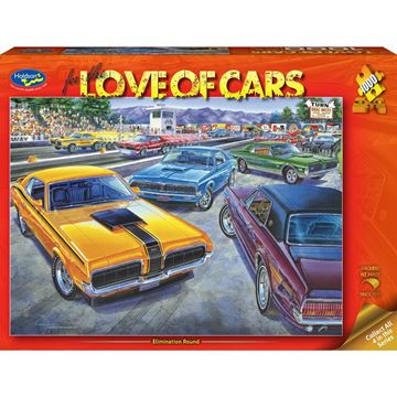 Picture of Holdson Puzzle - For the Love of Cars, 1000pc (Elimination Round)