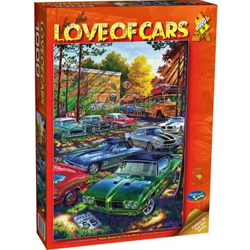 Picture of Holdson Puzzle - For the Love of Cars, 1000pc (Make Room For Three More)