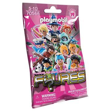 Picture of Playmobil - Series 19 Girls Blind Bag Display (48)