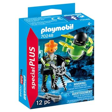 Picture of Playmobil - Agent with Drone