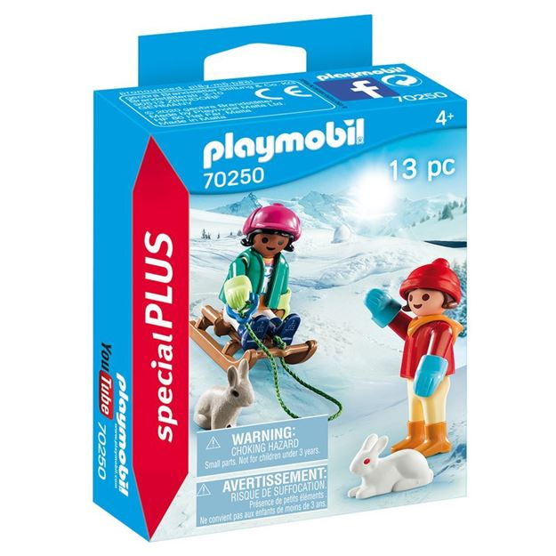 Picture of Playmobil - Children with Sleigh