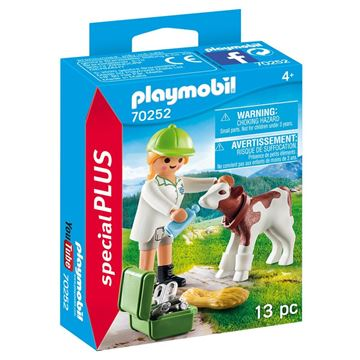 Picture of Playmobil - Vet with Calf
