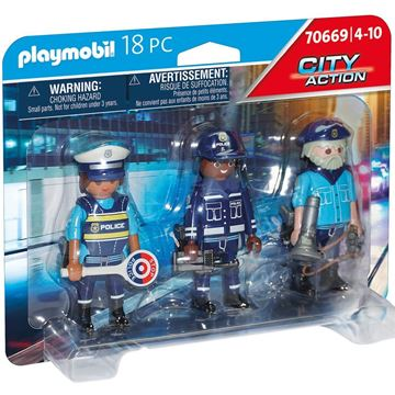 Picture of Playmobil - Police Figure Set